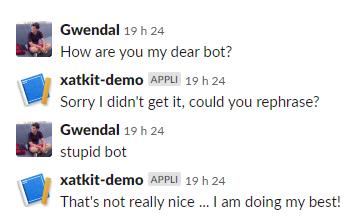 Matched Input Bot