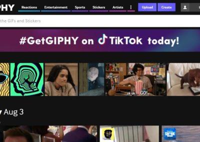 Multi-platform: Giphy to Slack