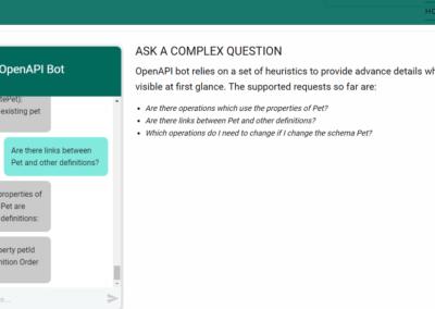 API bot to understand OpenAPI docs