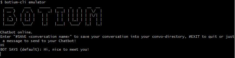 Botium-cli-emulator