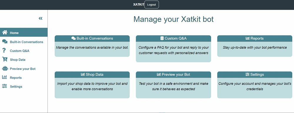 Configure your Xatkit eCommerce chatbot